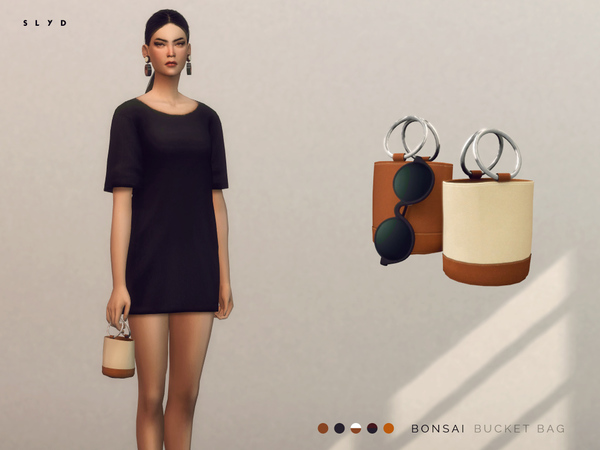 The Sims Resource: Bonsai Bucket Bag by SLYD