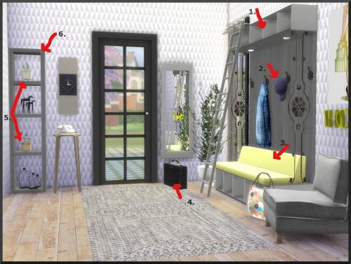Ksimbleton: Mud room set recolors