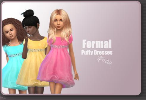 Xmisakix sims: Old School Dresses