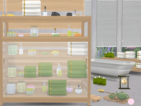 The Sims Resource: Home Spa 2 Set by DOT