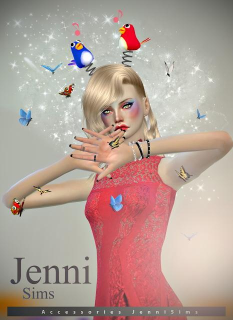 Jenni Sims: Hair Birds