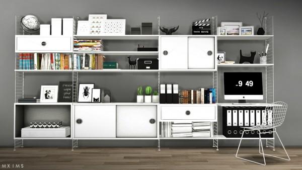 MXIMS: String Shelf System Updated