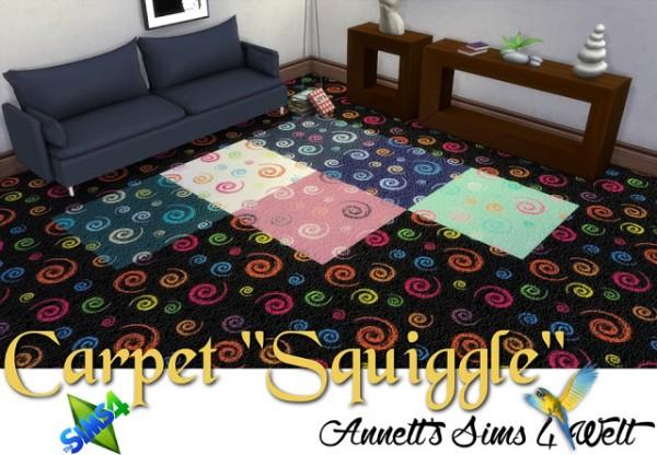 Annett`s Sims 4 Welt: Carpet Squiggle