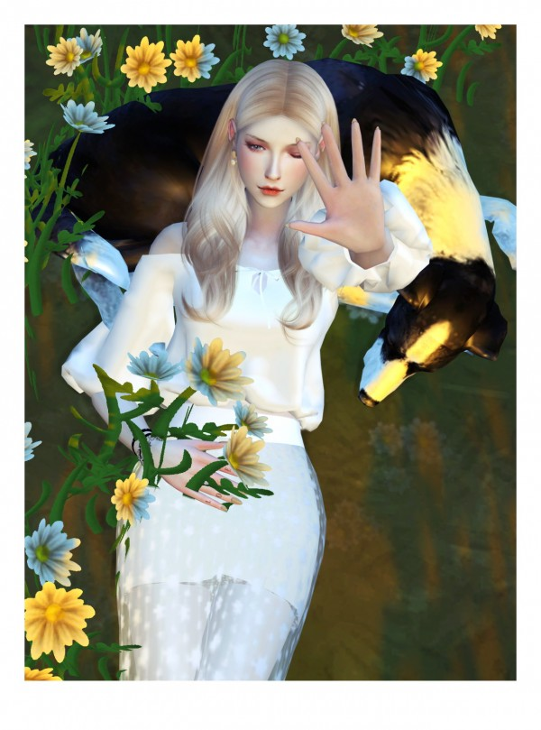 Flower Chamber Pet Me Up Poses Sets Sims 4 Downloads