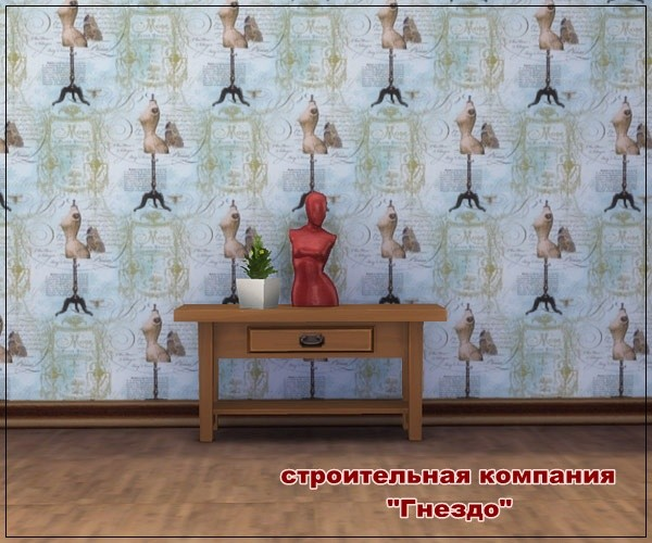 Sims 3 by Mulena: Wallpaper Clothing 1