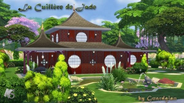 Khany Sims: Restaurant La cuillère de jade by Guardgian
