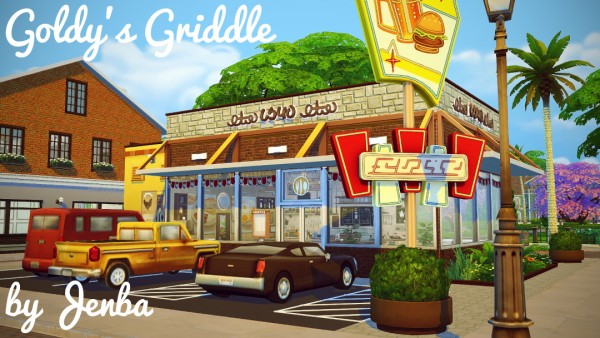 Jenba Sims: Goldy's Griddle diner