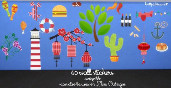 Brittpinkiesims : DIY Restaurant Set