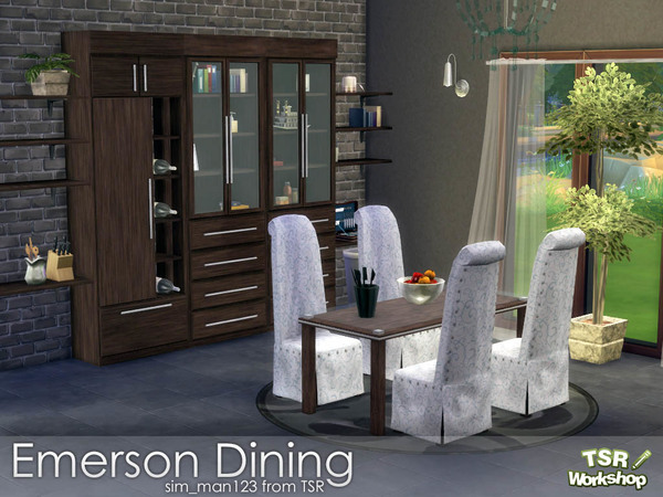 The Sims Resource: Emerson Diningroom by simsman123