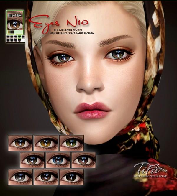 Tifa Sims: Eyes N10