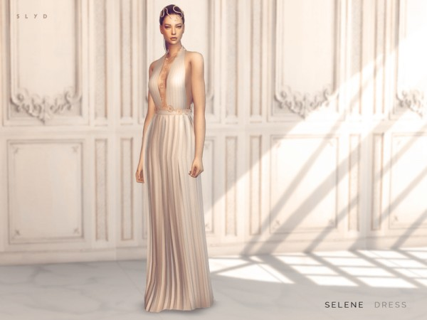 The Sims Resource: Selene Dress by SLYD