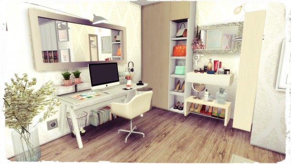 Dinha Gamer Youtuber Bedroom Sims 4 Downloads