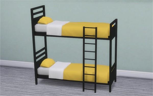 veranka dorm and contrast bunk bed frames - Dorm Bed Frame
