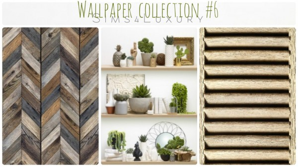 Sims4Luxury: Wall collection 6