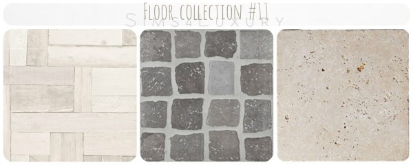 Sims4Luxury: Floor collection 11