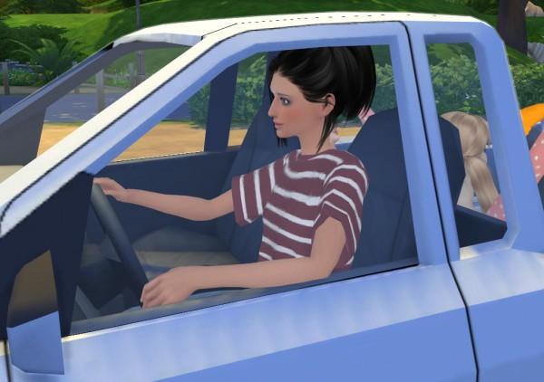 Enure Sims: Pose Truck Vorn P328