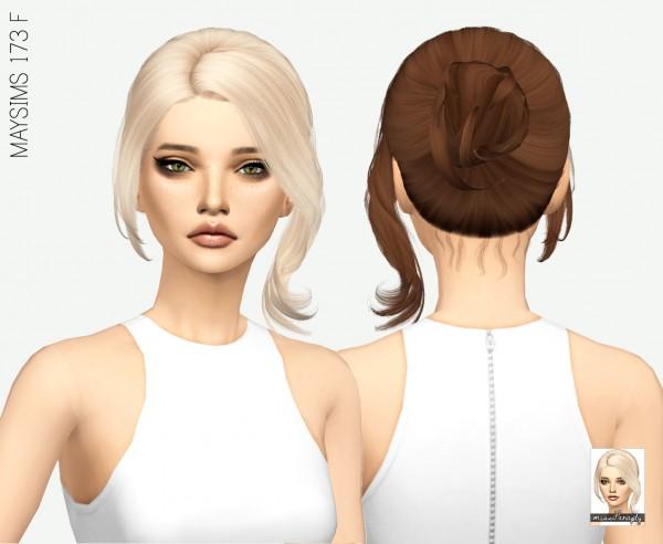 Miss Paraply: Maysims 173 F hair retextured