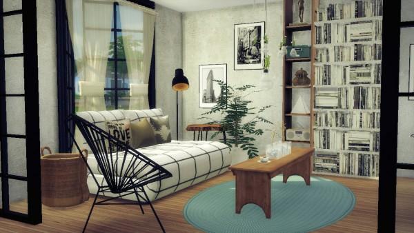 Sims4Luxury: CC Finds 1   Livingroom
