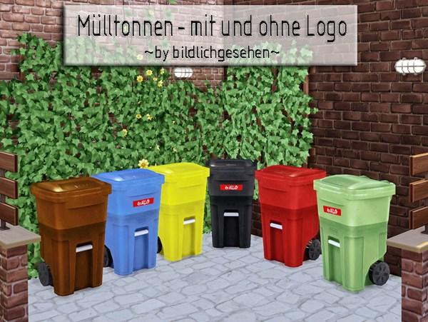 Akisima Sims Blog: Trash cans