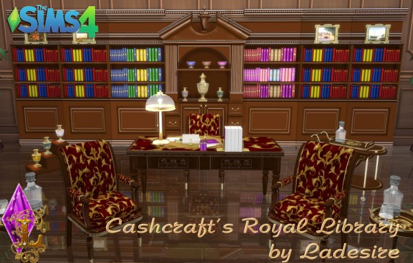 Ladesire Creative Corner: Cashcrafts Royal Library