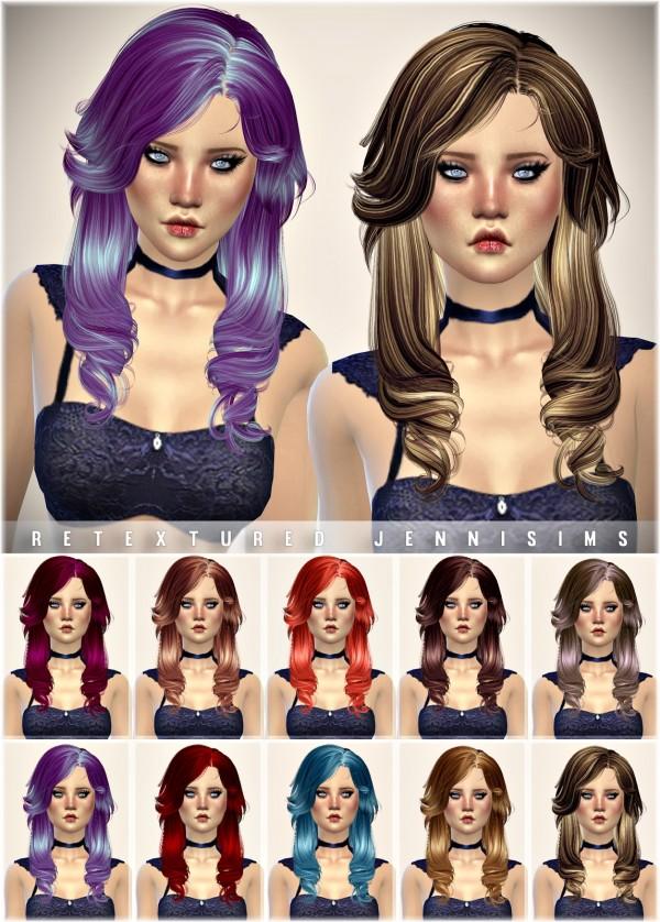 Jenni Sims: Newsea Aileen hairstyle retexture