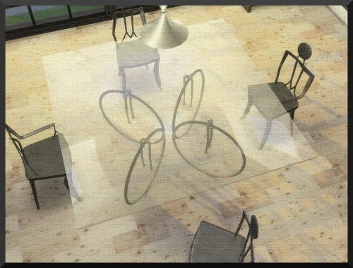 Ksimbleton: Bicycle Dining Table