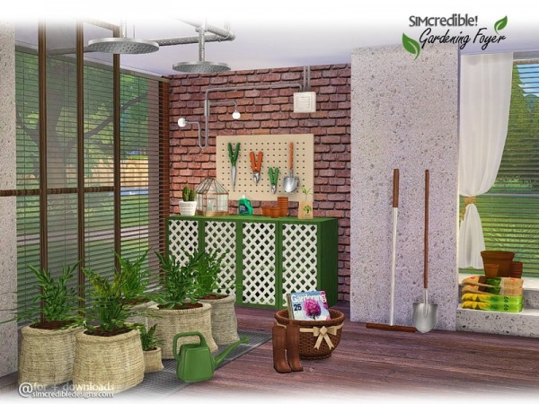 Sims Foyer Ideas : The sims resource gardening foyer decor by simcredible