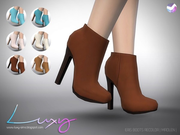 The Sims Resource: Eris Boots by LuxySims3