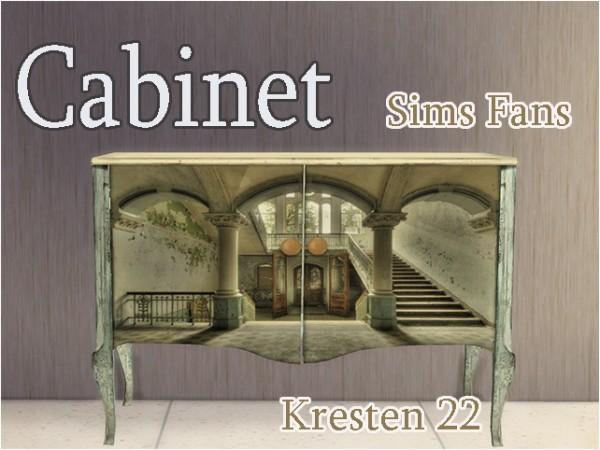 Sims Fans: Cabinet by Kresten 22