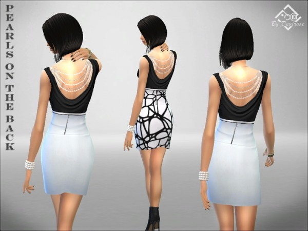 The Sims Resource: BeW Dress by Devirose