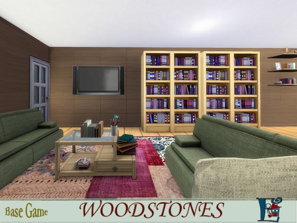 The Sims Resource: Woodstones by Evi