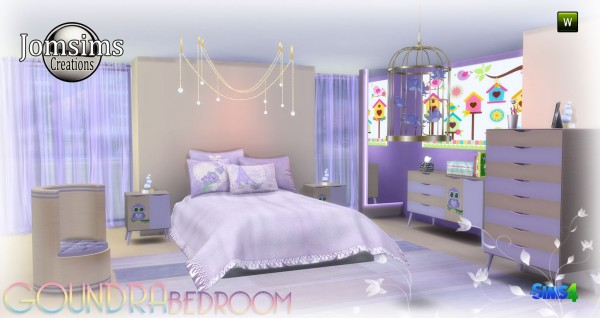 Jom Sims Creations: Goundra bedroom