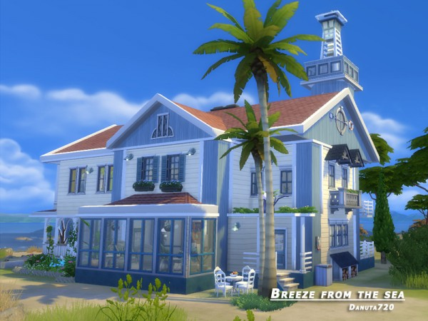 The Sims Resource: Breeze from the sea by Danuta720