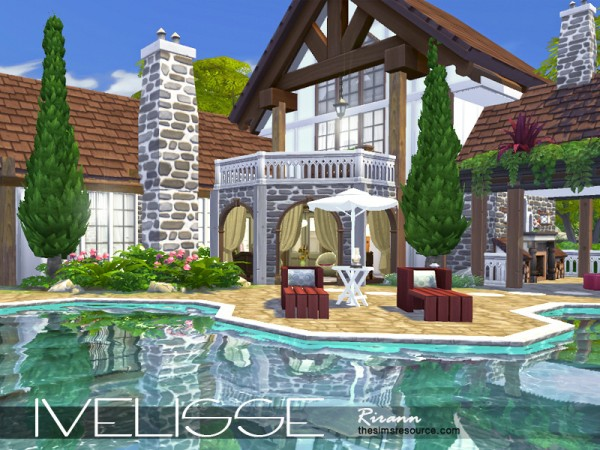 The Sims Resource: Ivelisse house by Rirann