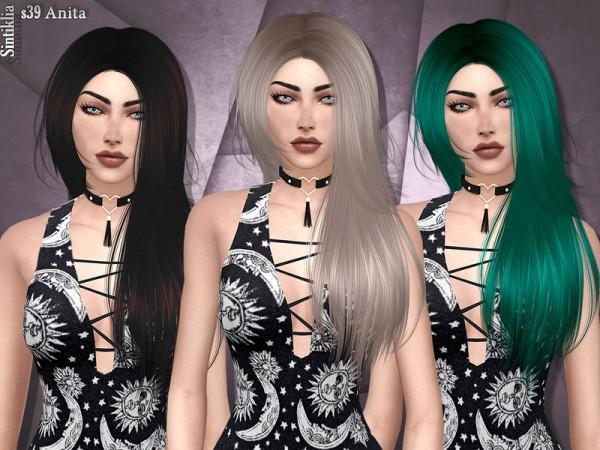 The Sims Resource: Sintiklia   Hair s39 Anita