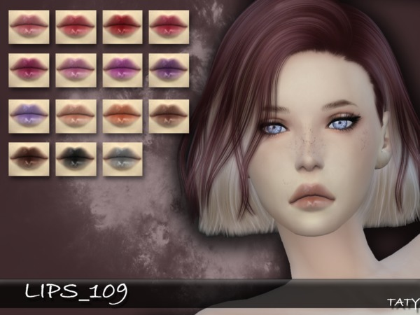 The Sims Resource: Lips 109 by Taty