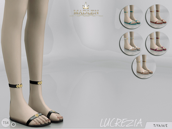 The Sims Resource: Madlen Lucrezia Shoes by MJ95