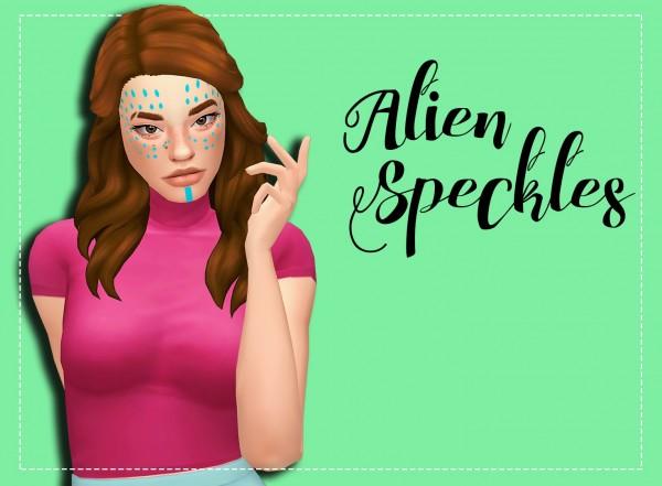 Simsworkshop: Alien Speckles Recolor by Weepingsimmer