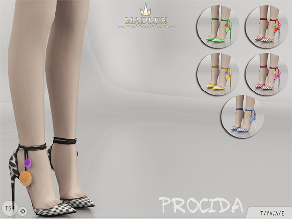 The Sims Resource: Madlen Procida Shoes by MJ95