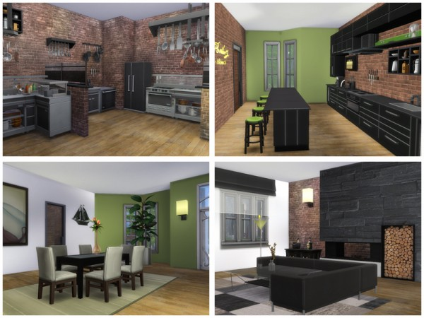The Sims Resource: Nocturne   Restaurant by Danuta720