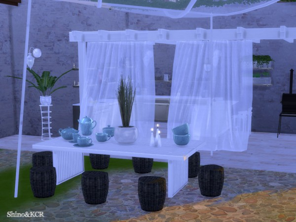 The Sims Resource: Outdoor 2016   Dining by ShinoKCR