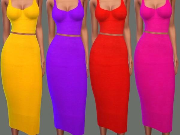 The Sims Resource: Tammy Dress by NataliMayhem