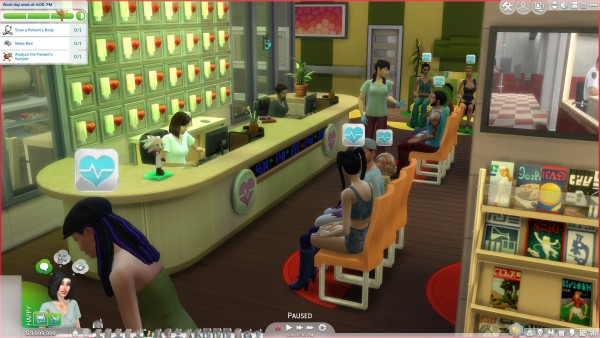 Mod The Sims: Doctor Career Reimagined by coolspear1