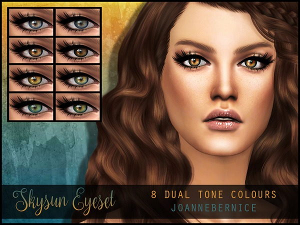 The Sims Resource: Skysun Eyeset by joannebernice