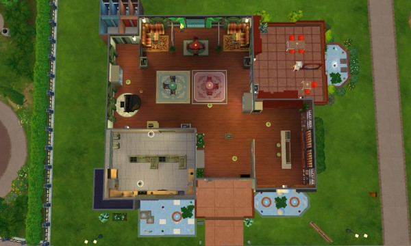 Mod The Sims: Restaurant La Mama by catalina 45