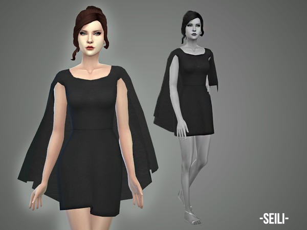The Sims Resource: Seili dress by April