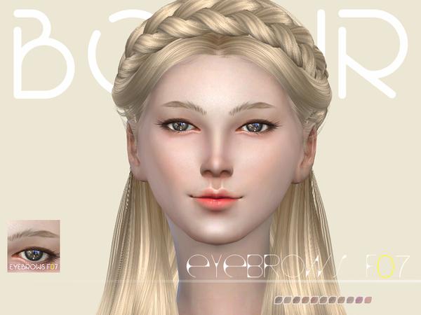 The Sims Resource: Bobur Eyebrows F07