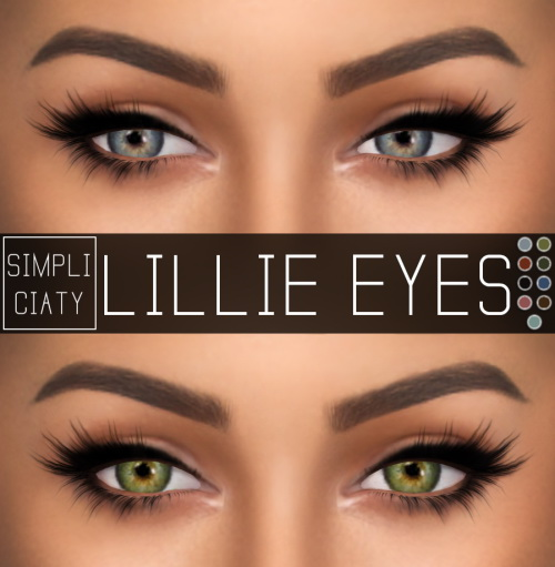Simpliciaty Lillie Eyes Sims 4 Downloads