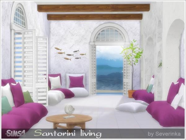 Sims by Severinka: Santorini livingroom