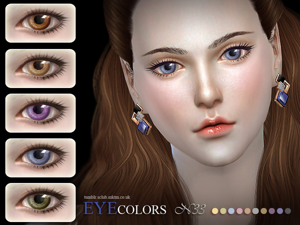 The Sims Resource: Eyecolor 33 by S Club